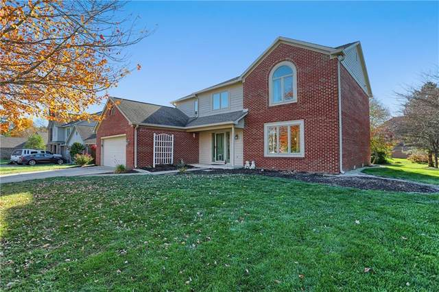 4597 Silver Springs Drive, Greenwood, IN 46142 (MLS #21750509) :: Realty ONE Group Dream