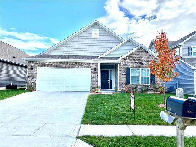 2453 Bristol Drive, Franklin, IN 46131 (MLS #21751449) :: The ORR Home Selling Team