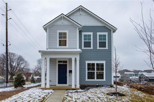 369 Steeples Boulevard, Indianapolis, IN 46222 (MLS #21751833) :: The Indy Property Source