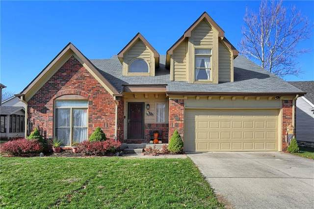 8858 White Fir Drive, Indianapolis, IN 46256 (MLS #21752163) :: The ORR Home Selling Team