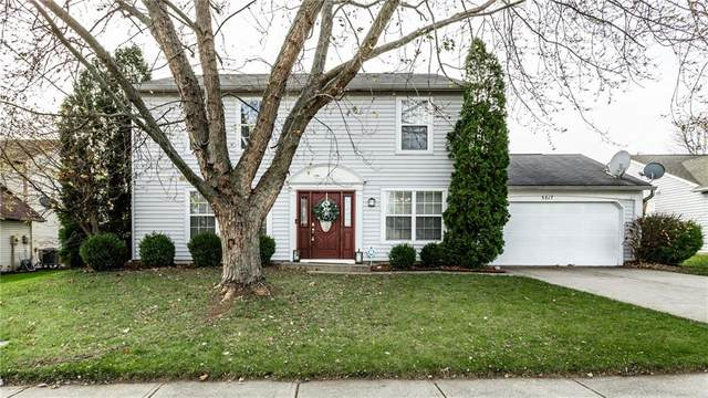 5617 Portwood Place, Indianapolis, IN 46254 (MLS #21752382) :: Corbett & Company