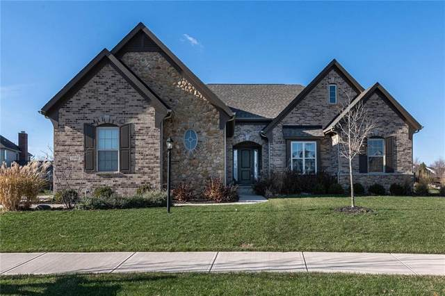 13934 Amber Meadow Drive W, Fishers, IN 46038 (MLS #21752900) :: Richwine Elite Group
