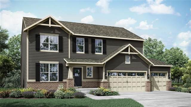 17354 Tribute Row, Noblesville, IN 46060 (MLS #21756771) :: The Evelo Team