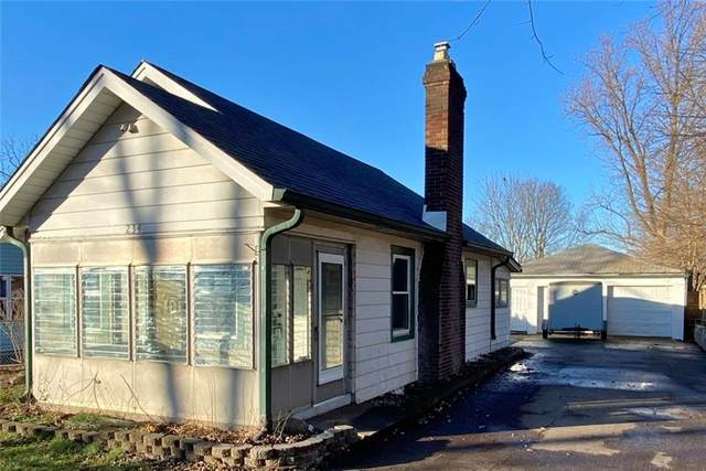 234 W Gimber Street, Indianapolis, IN 46225 (MLS #21757956) :: Mike Price Realty Team - RE/MAX Centerstone