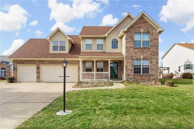 1560 White Oak Court, Franklin, IN 46131 (MLS #21760677) :: The Indy Property Source