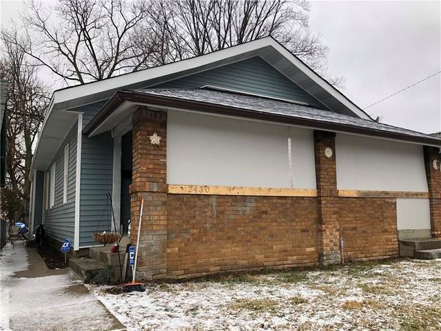 2430 N Lasalle Street, Indianapolis, IN 46218 (MLS #21760885) :: RE/MAX Legacy
