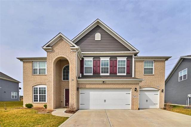 6414 Sugar Maple Drive, Zionsville, IN 46077 (MLS #21763547) :: Anthony Robinson & AMR Real Estate Group LLC