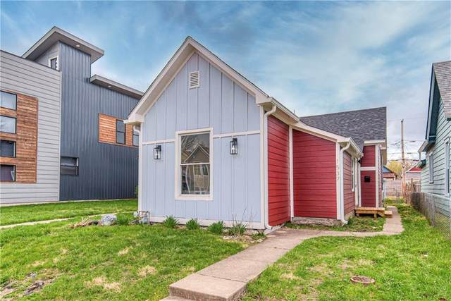 1537 Fletcher Avenue, Indianapolis, IN 46203 (MLS #21763809) :: The Indy Property Source