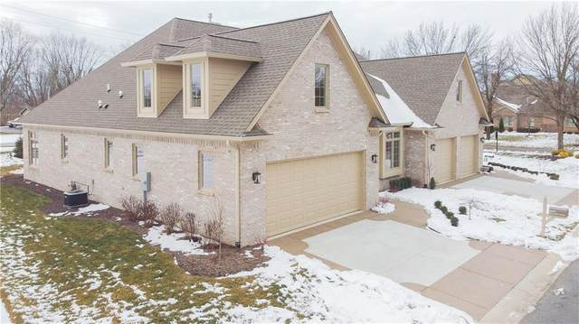1691 Dorrell Court #40, Greenwood, IN 46143 (MLS #21764008) :: Anthony Robinson & AMR Real Estate Group LLC
