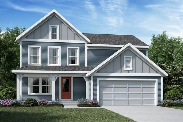 1081 Pond View Drive W, Greenfield, IN 46140 (MLS #21764259) :: Dean Wagner Realtors