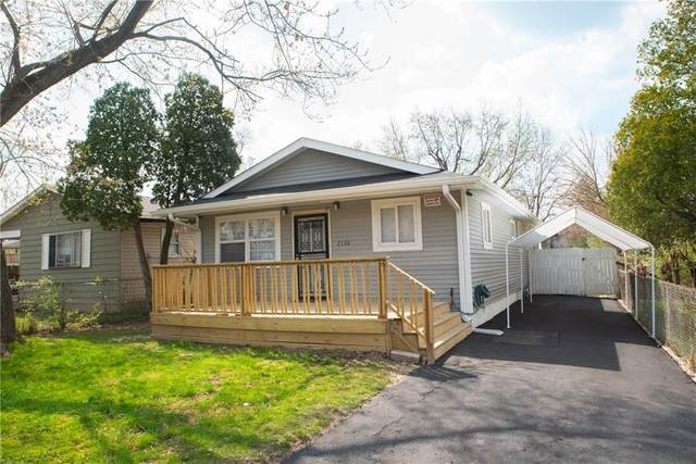 2120 N Spencer Avenue, Indianapolis, IN 46218 (MLS #21764396) :: The Indy Property Source