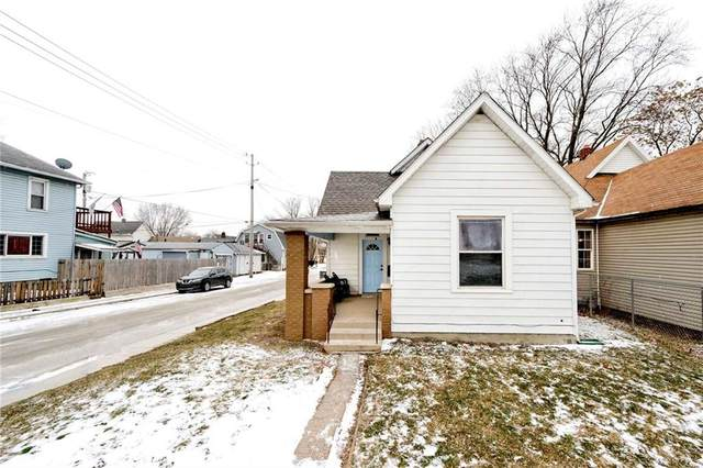1822 S Talbott Street, Indianapolis, IN 46225 (MLS #21765472) :: The Evelo Team