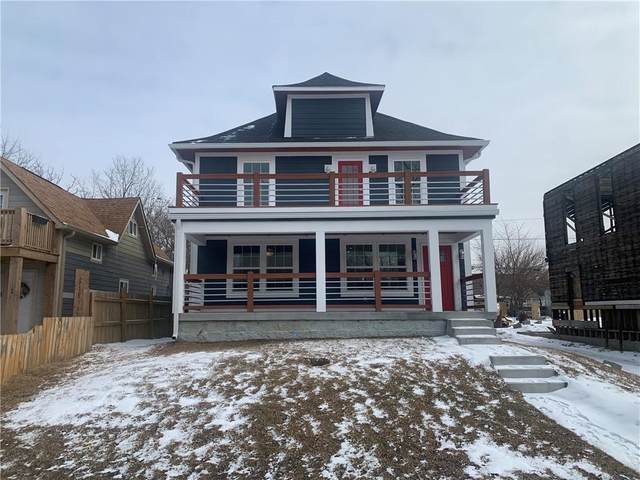 601 N Tacoma Avenue, Indianapolis, IN 46201 (MLS #21766242) :: Richwine Elite Group