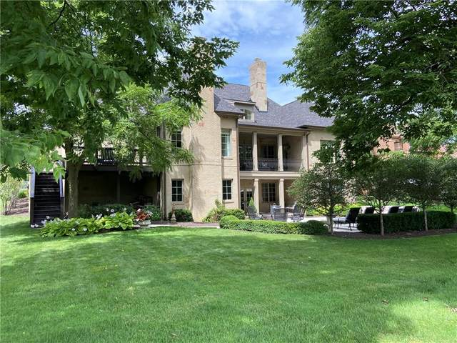 15479 Hidden Oaks Lane, Carmel, IN 46033 (MLS #21767861) :: David Brenton's Team