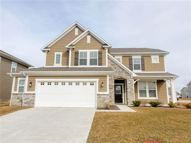 10533 Stableview Drive, Fortville, IN 46040 (MLS #21768990) :: The Indy Property Source