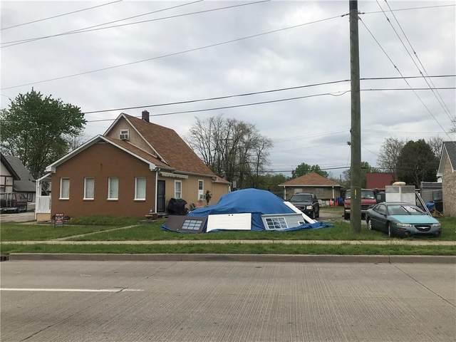 130 W Raymond Street, Indianapolis, IN 46225 (MLS #21769216) :: Pennington Realty Team