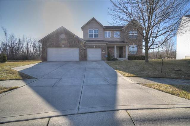 10437 Gladeview Court, Indianapolis, IN 46239 (MLS #21769415) :: The Evelo Team