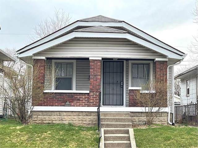 1637 S State Avenue, Indianapolis, IN 46203 (MLS #21770179) :: The Indy Property Source