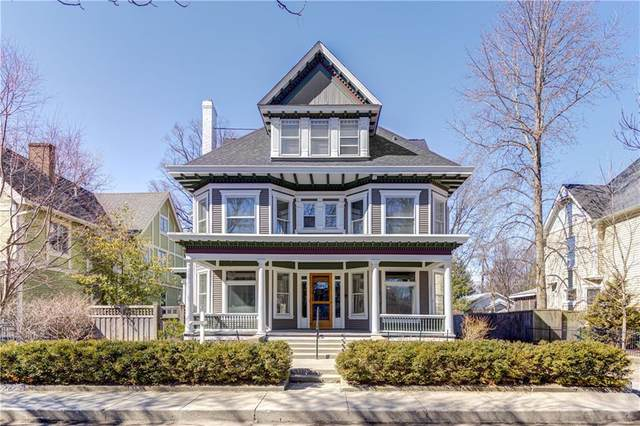 1338 N New Jersey Street, Indianapolis, IN 46202 (MLS #21770245) :: The Indy Property Source