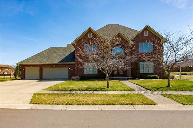4465 W Woodbridge Lane, New Palestine, IN 46163 (MLS #21773156) :: Ferris Property Group