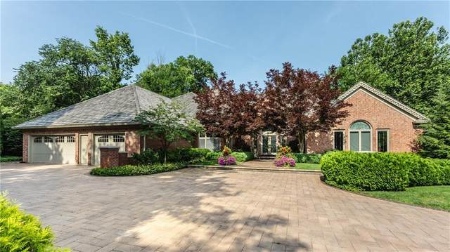 8506 Oakmont Lane, Indianapolis, IN 46260 (MLS #21773656) :: The Indy Property Source