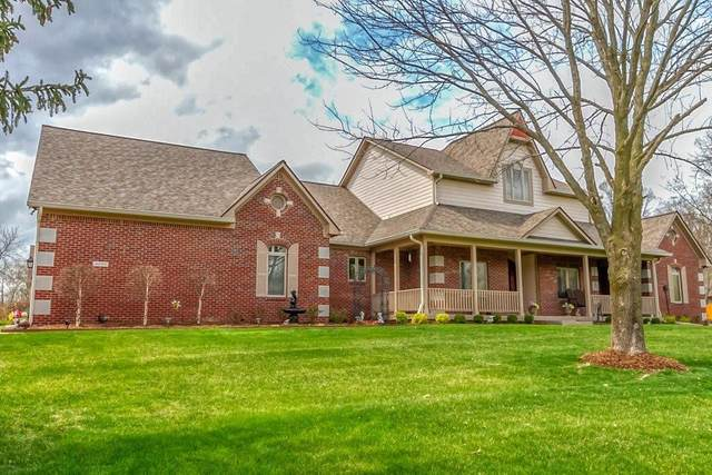 4090 S Village Row, New Palestine, IN 46163 (MLS #21773909) :: The Evelo Team