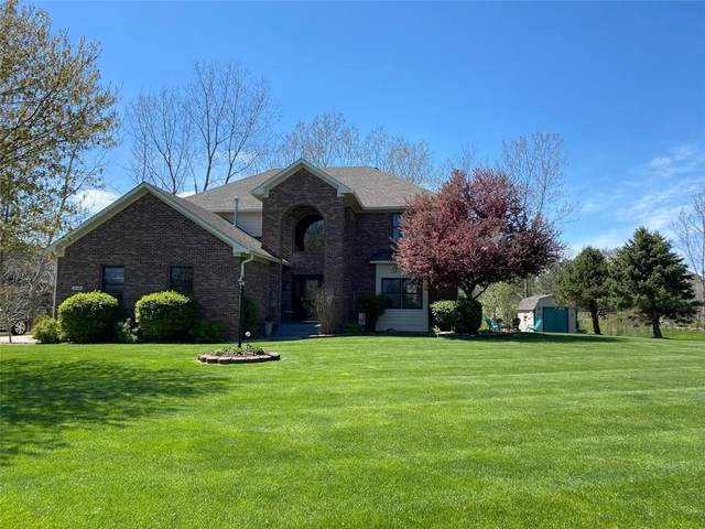 1118 N Creekview Drive, Greenfield, IN 46140 (MLS #21774602) :: The Evelo Team