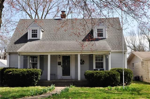 1933 Newton Street, Columbus, IN 47201 (MLS #21774909) :: RE/MAX Legacy