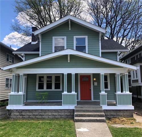 3323 Broadway Street, Indianapolis, IN 46205 (MLS #21777318) :: Mike Price Realty Team - RE/MAX Centerstone