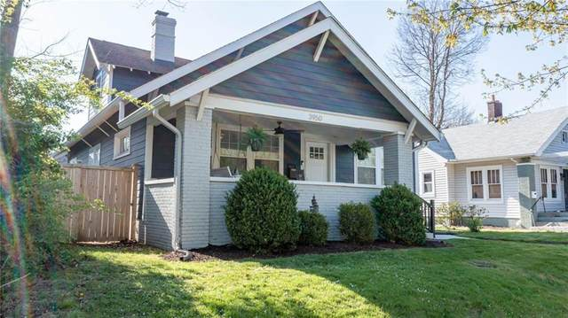 3950 N College Avenue, Indianapolis, IN 46205 (MLS #21777402) :: The Evelo Team