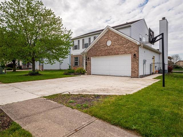 7974 Cobblesprings Drive, Avon, IN 46123 (MLS #21779038) :: Mike Price Realty Team - RE/MAX Centerstone