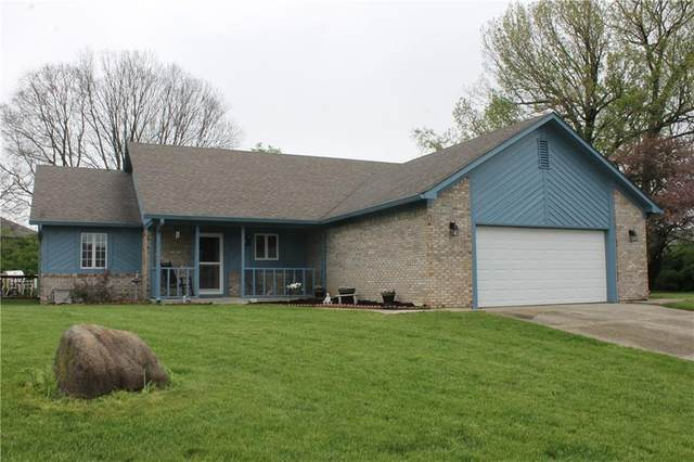 1007 Chad Court, Plainfield, IN 46168 (MLS #21779354) :: The Evelo Team