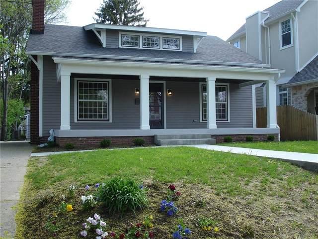 149 Berkley Road, Indianapolis, IN 46208 (MLS #21781262) :: The ORR Home Selling Team