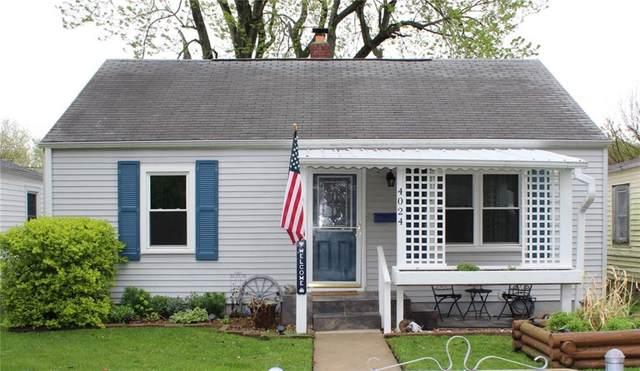 4024 Brown Street, Anderson, IN 46013 (MLS #21782830) :: Richwine Elite Group