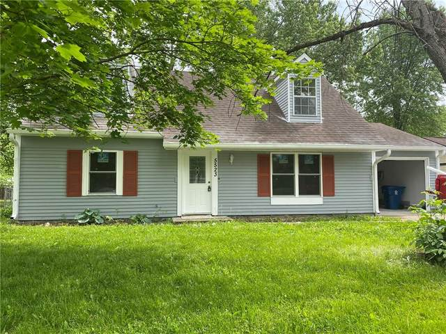 5523 W Epler, Indianapolis, IN 46221 (MLS #21785058) :: Mike Price Realty Team - RE/MAX Centerstone