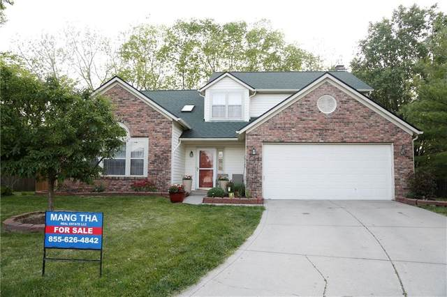 504 Buffalo Ridge Circle, Indianapolis, IN 46227 (MLS #21785774) :: Keller & Corbett Real Estate