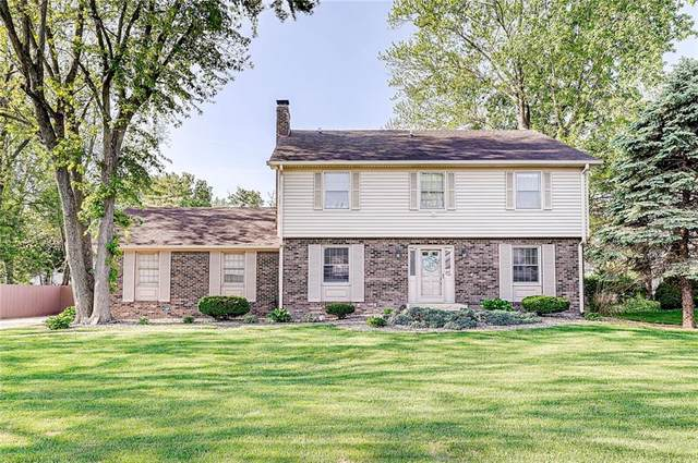 7721 Scarborough Blvd South Drive, Indianapolis, IN 46256 (MLS #21785939) :: Ferris Property Group