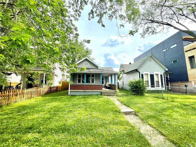 1119 Woodlawn Avenue, Indianapolis, IN 46203 (MLS #21788324) :: Ferris Property Group