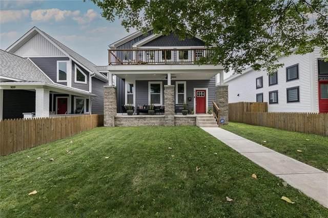 911 Dawson Street, Indianapolis, IN 46203 (MLS #21788673) :: JM Realty Associates, Inc.
