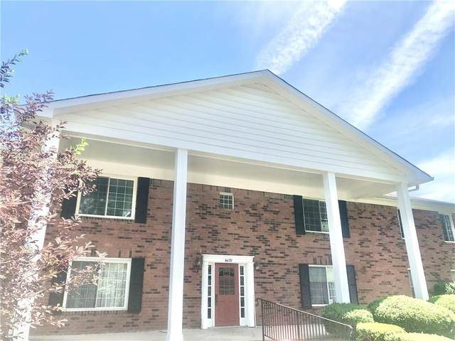 6427 W Park Central Drive D, Indianapolis, IN 46260 (MLS #21788680) :: The Indy Property Source