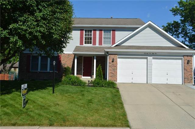 7655 Bayridge Drive, Indianapolis, IN 46236 (MLS #21789123) :: Mike Price Realty Team - RE/MAX Centerstone