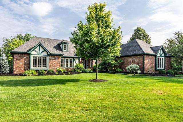 245 Royal Oak Court, Zionsville, IN 46077 (MLS #21791103) :: The Indy Property Source