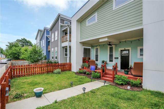 1205 Cottage Avenue, Indianapolis, IN 46203 (MLS #21791383) :: Richwine Elite Group