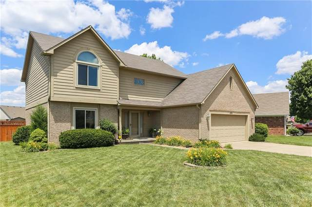 674 Leah Way, Greenwood, IN 46142 (MLS #21792340) :: The ORR Home Selling Team