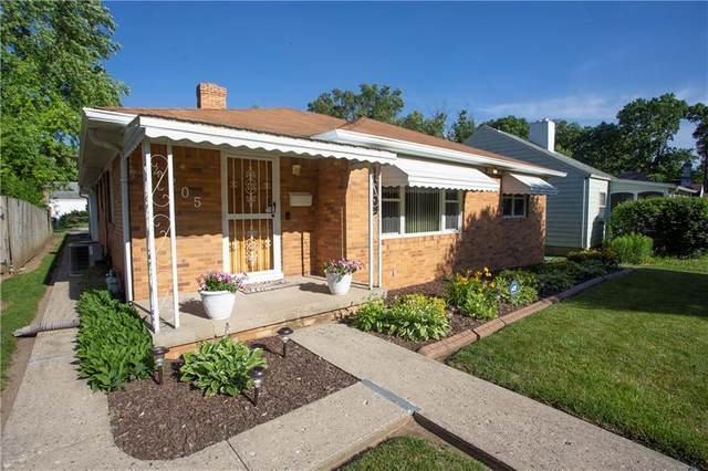 4205 E Pleasant Run Parkway South Drive, Indianapolis, IN 46201 (MLS #21793826) :: Mike Price Realty Team - RE/MAX Centerstone