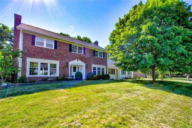 11611 Forest Drive, Carmel, IN 46033 (MLS #21794107) :: The Indy Property Source