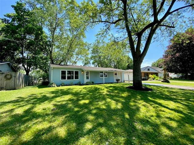 437 Hawthorne Avenue, Anderson, IN 46011 (MLS #21794204) :: Mike Price Realty Team - RE/MAX Centerstone