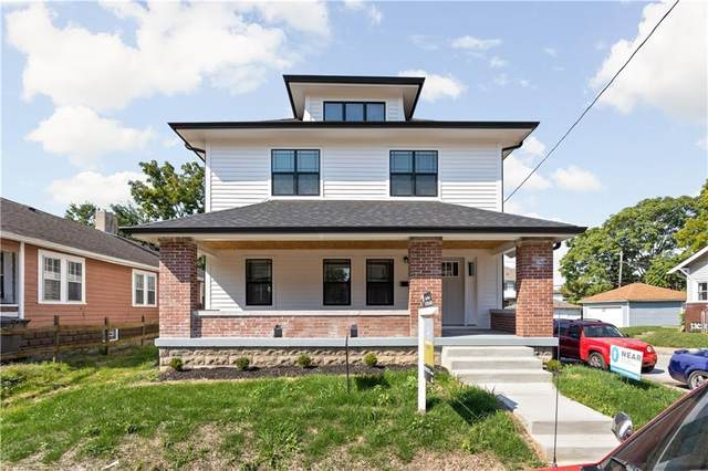 44 Hendricks Place, Indianapolis, IN 46201 (MLS #21794536) :: Ferris Property Group