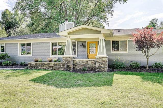 11050 Willowmere Drive, Carmel, IN 46280 (MLS #21794647) :: Mike Price Realty Team - RE/MAX Centerstone