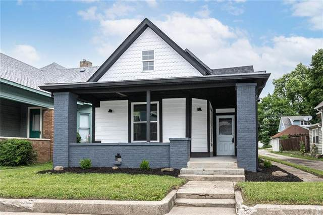 1222 E New York Street, Indianapolis, IN 46202 (MLS #21794852) :: Richwine Elite Group